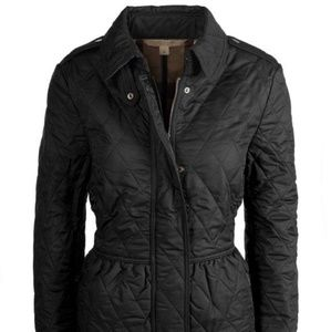 Burberry Quilted Jacket Peplum by Burberry Brit